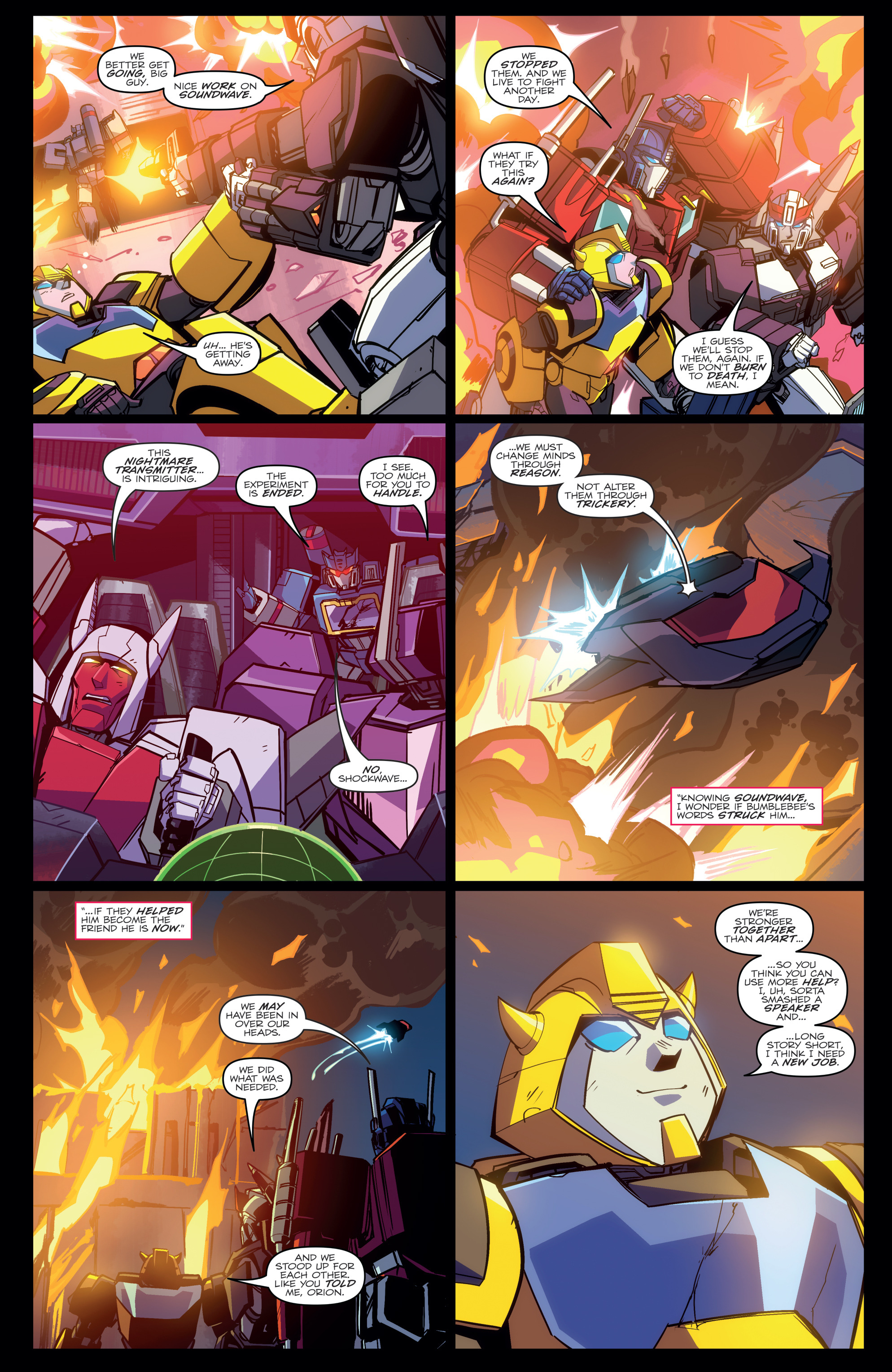 Read online Transformers Annual comic -  Issue # Full - 21