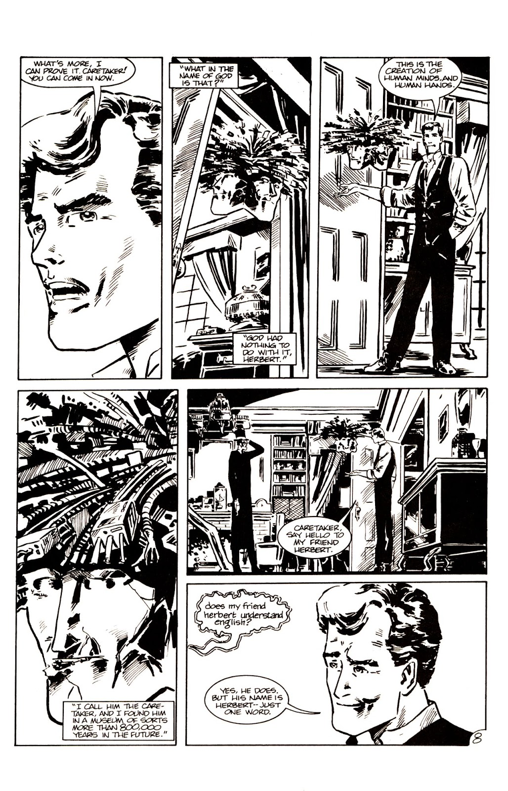 The Time Machine issue 1 - Page 10