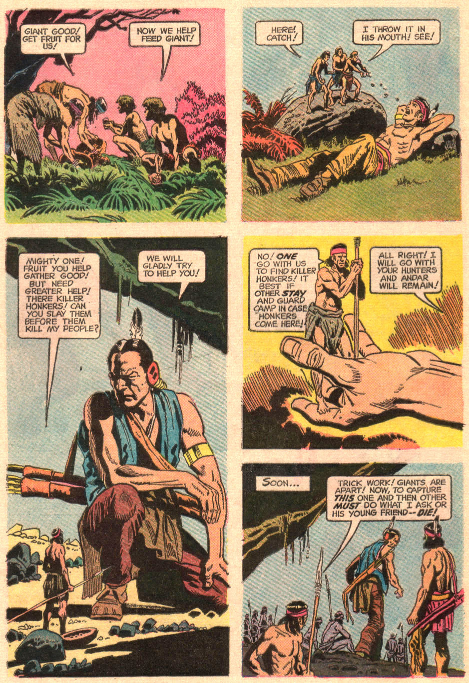 Read online Turok, Son of Stone comic -  Issue #67 - 8