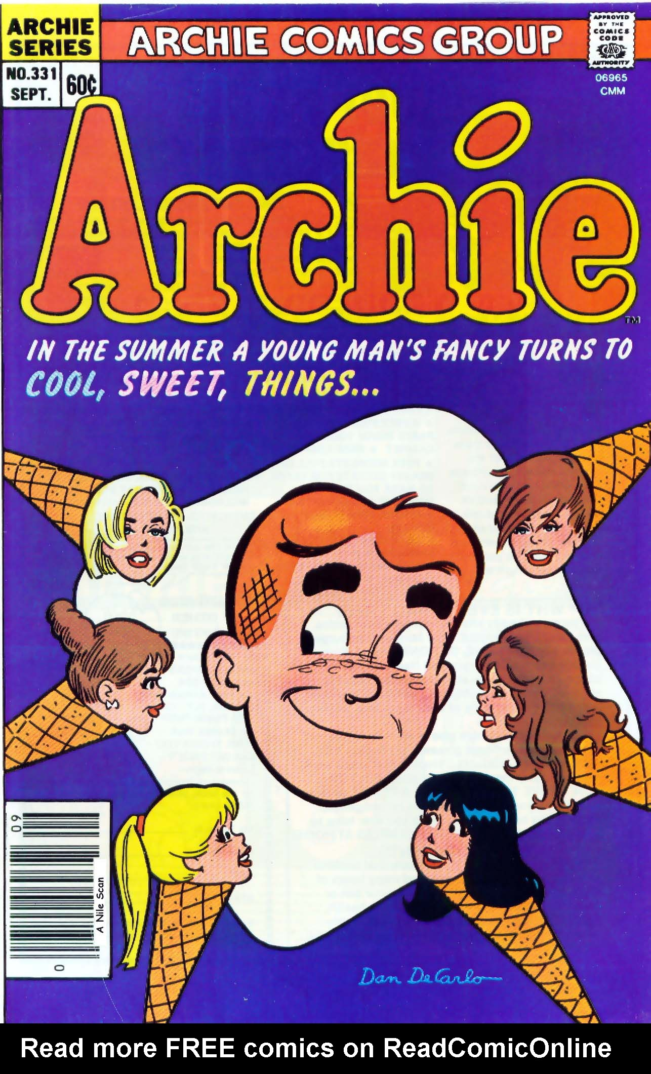 Read online Archie (1960) comic -  Issue #331 - 1