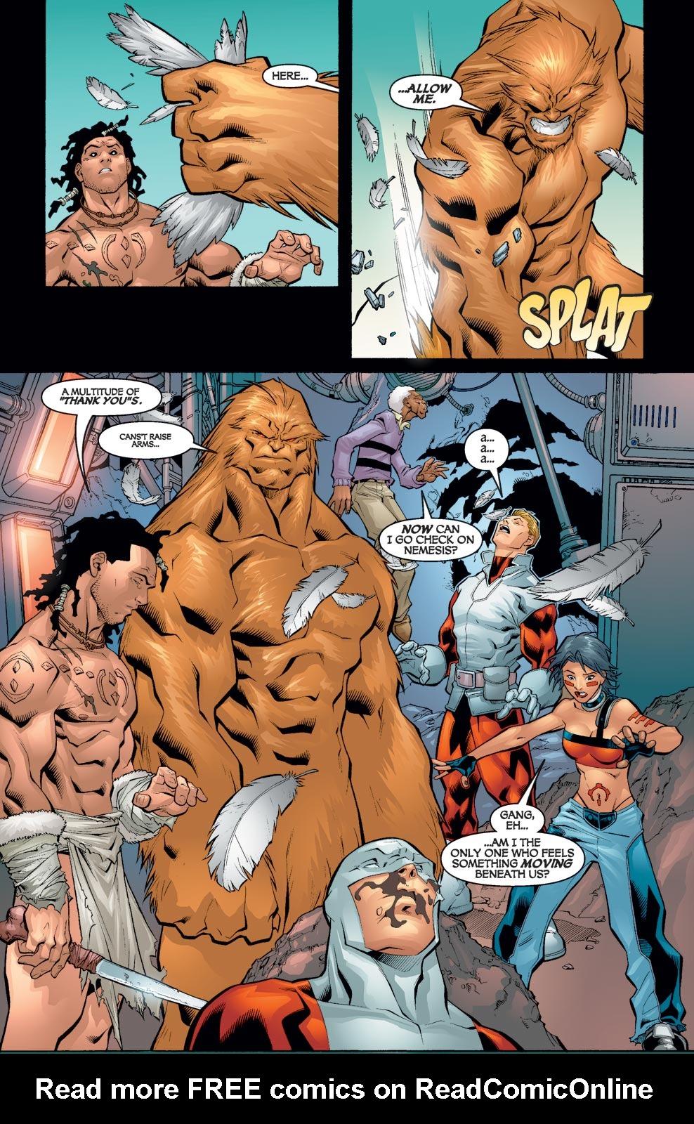 Read online Alpha Flight (2004) comic -  Issue #5 - 19