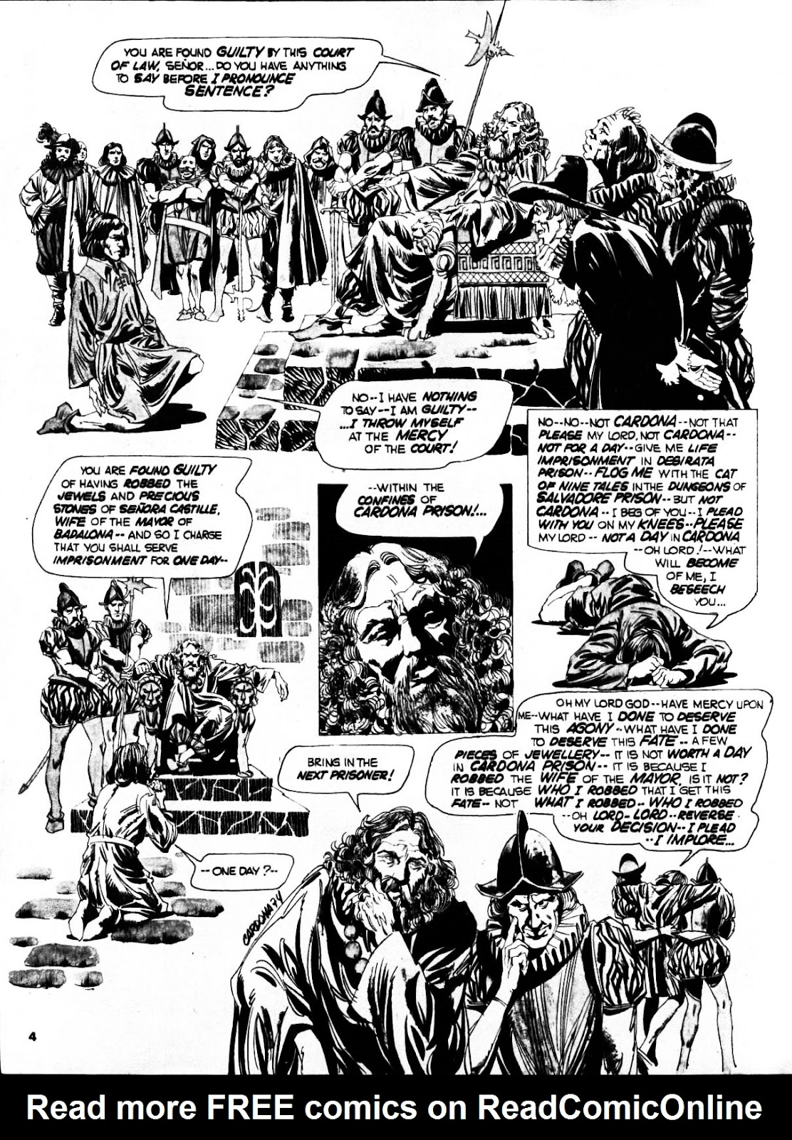 Nightmare (1970) issue 21 - Page 4