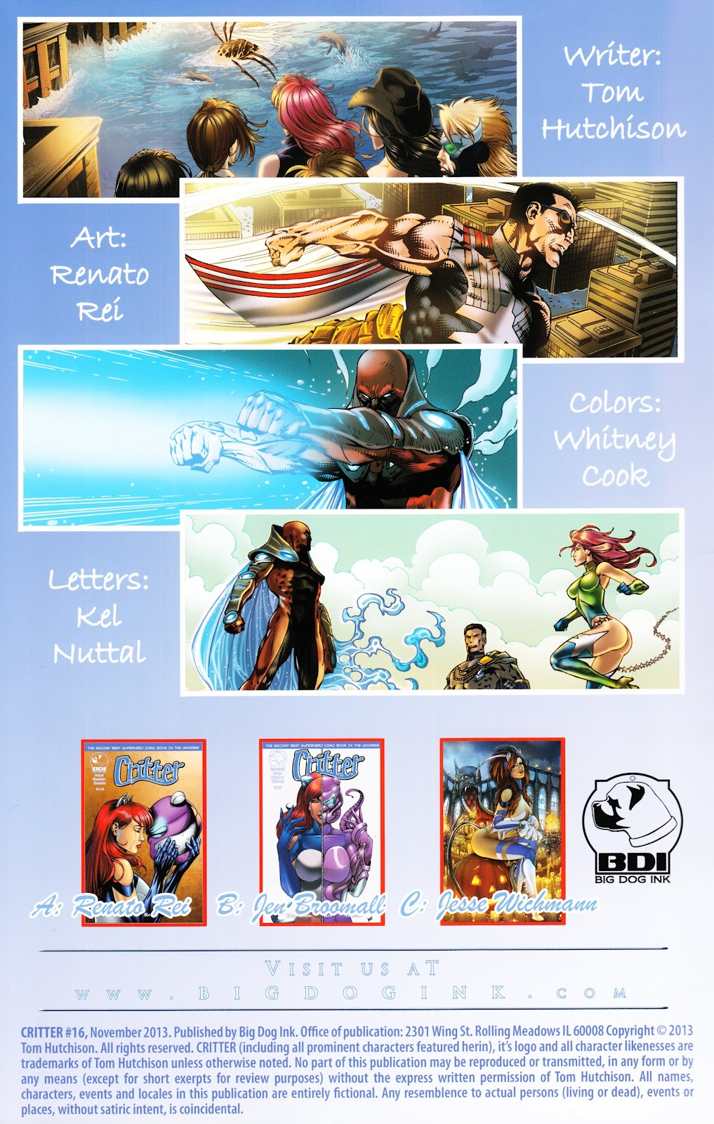 Read online Critter (2012) comic -  Issue #16 - 2