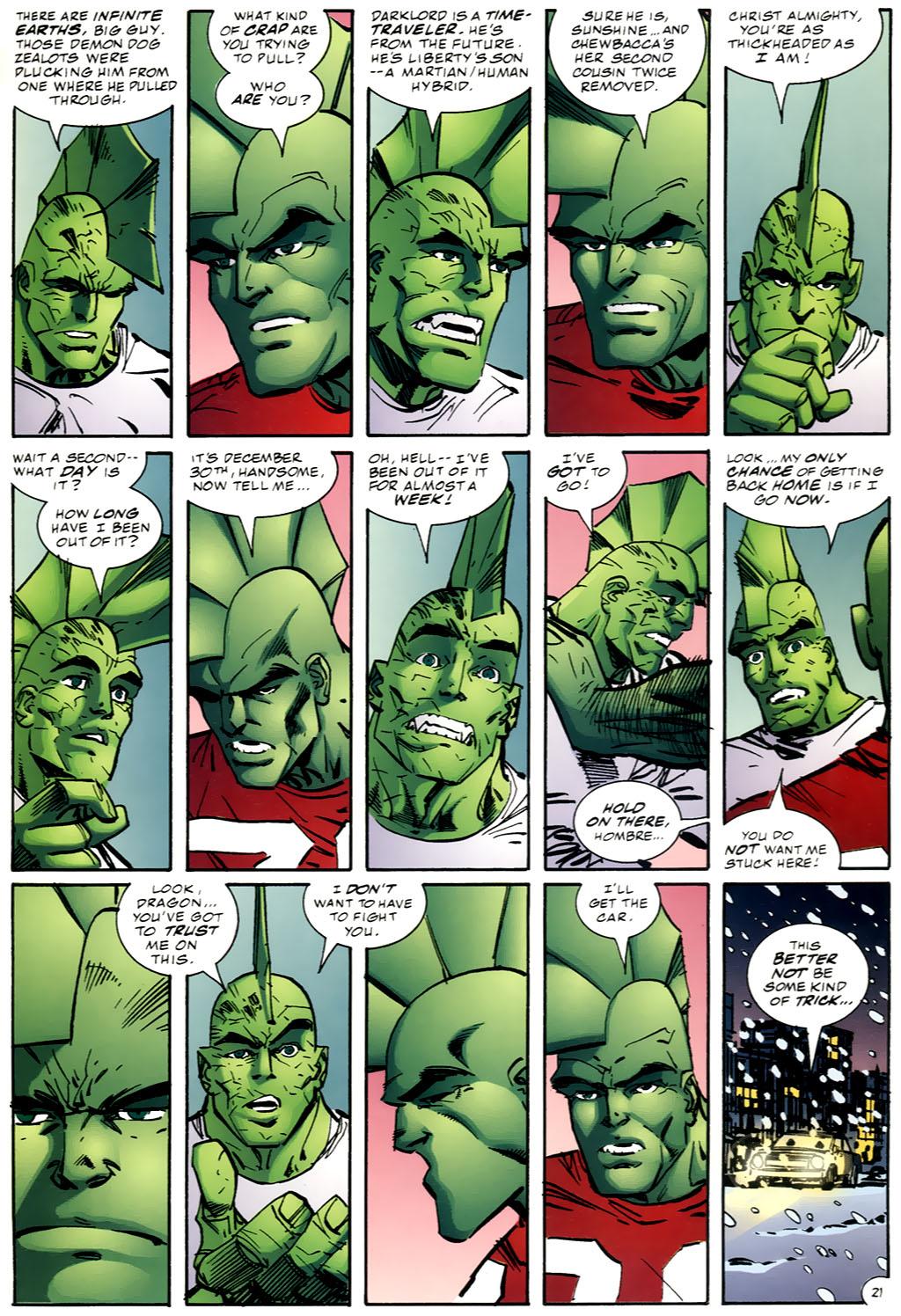 The Savage Dragon (1993) Issue #98 #101 - English 22