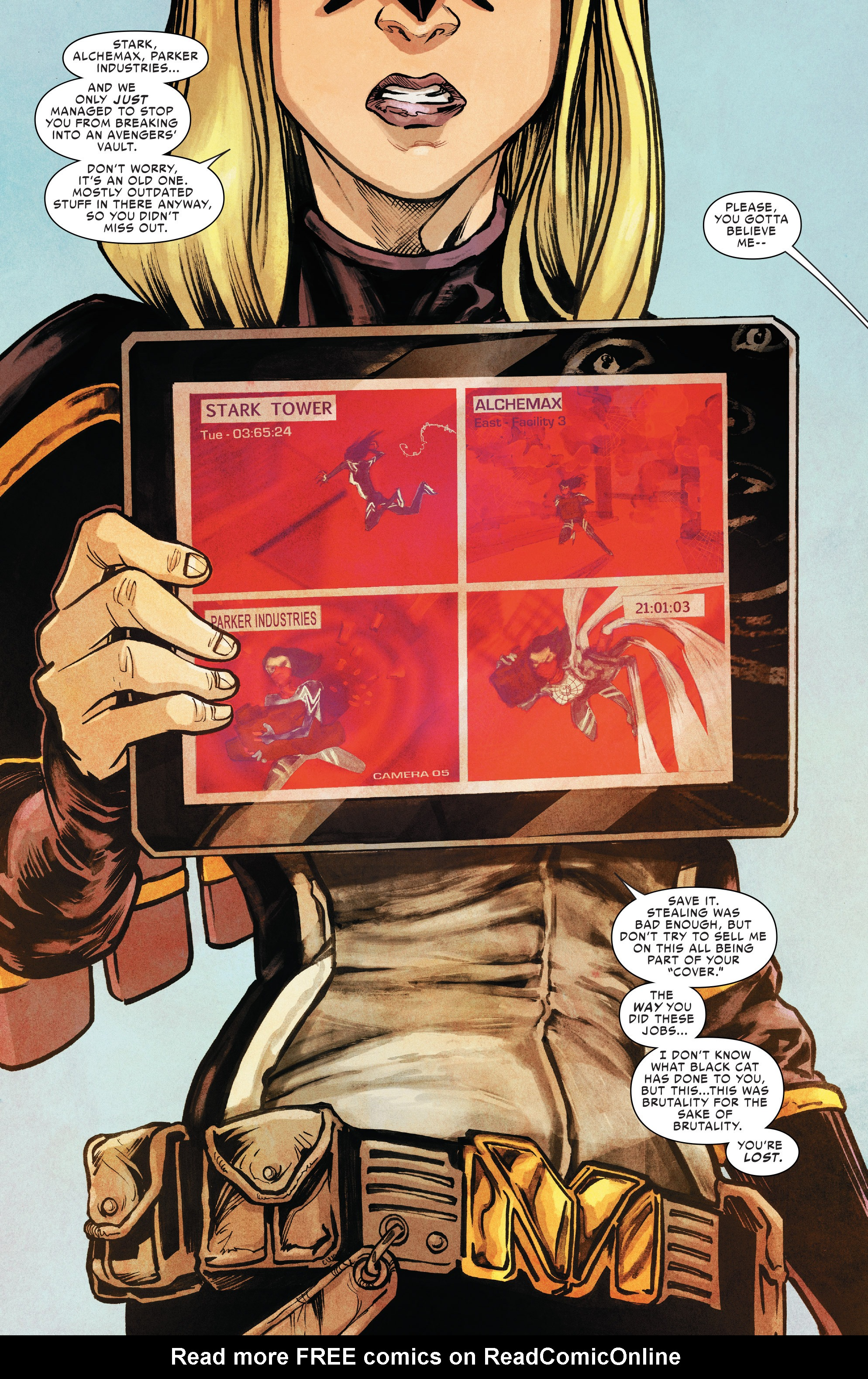 Read online Silk (2016) comic -  Issue #8 - 7