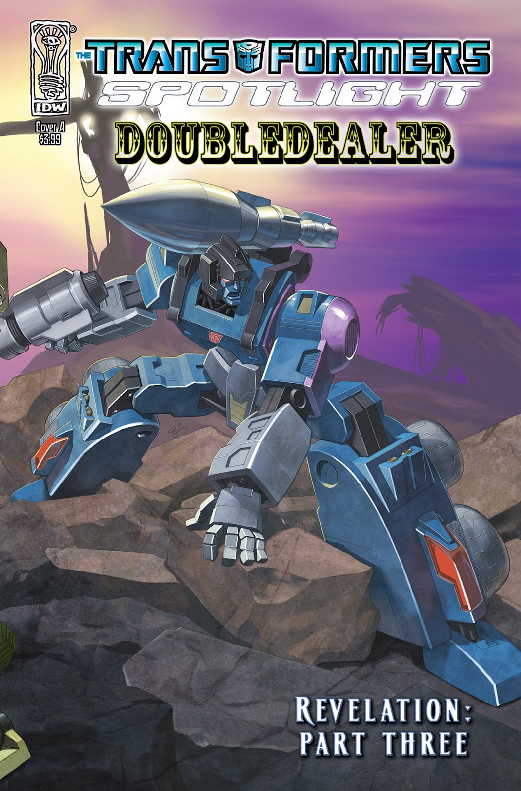Transformers Spotlight: Doubledealer issue Full - Page 1