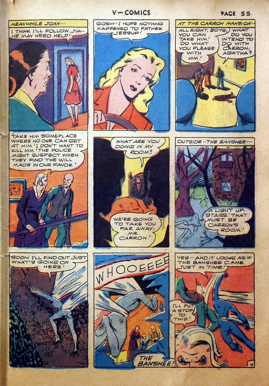 Read online V...- Comics comic -  Issue #2 - 56