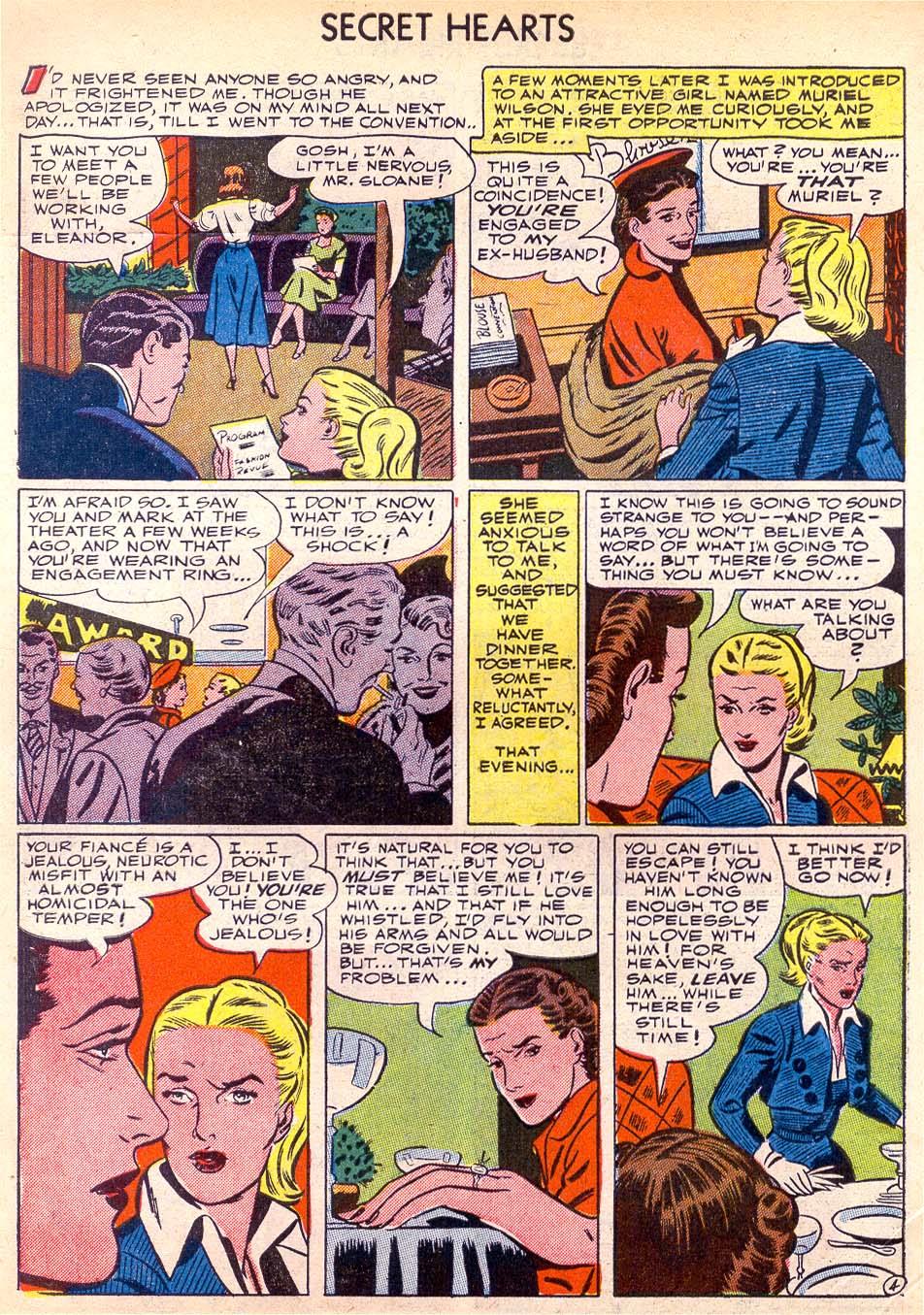 Read online Secret Hearts comic -  Issue #11 - 6