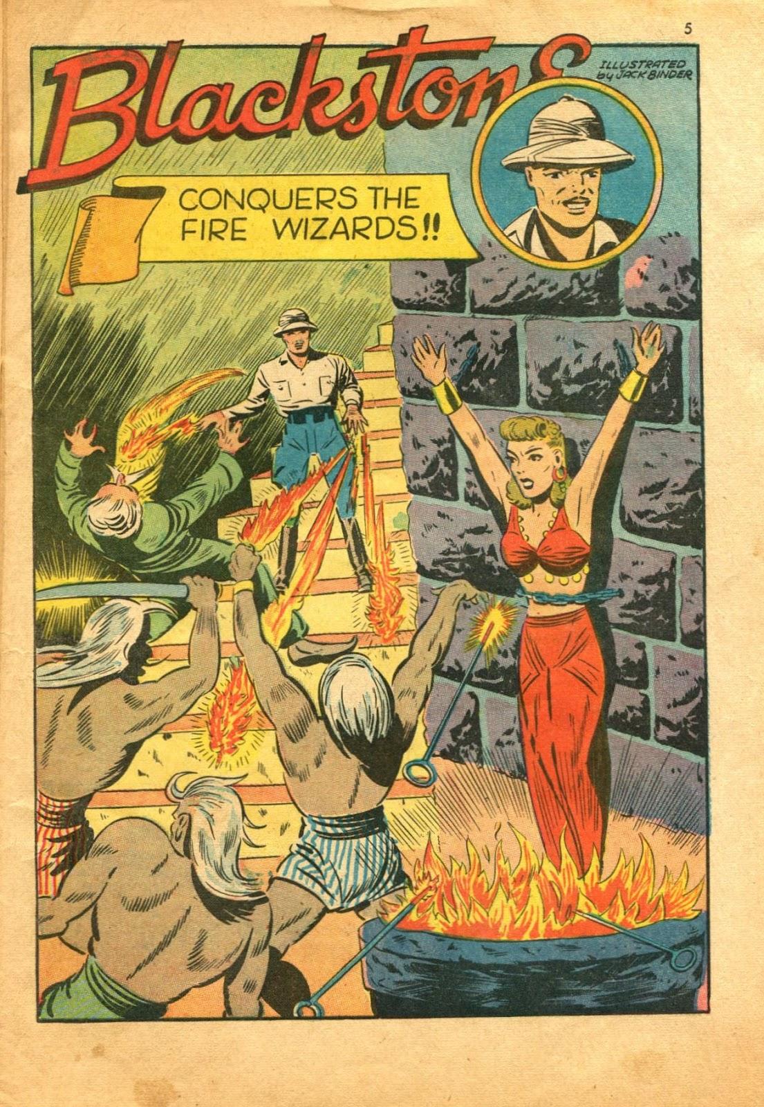 Read online Super-Magician Comics comic -  Issue #11 - 5
