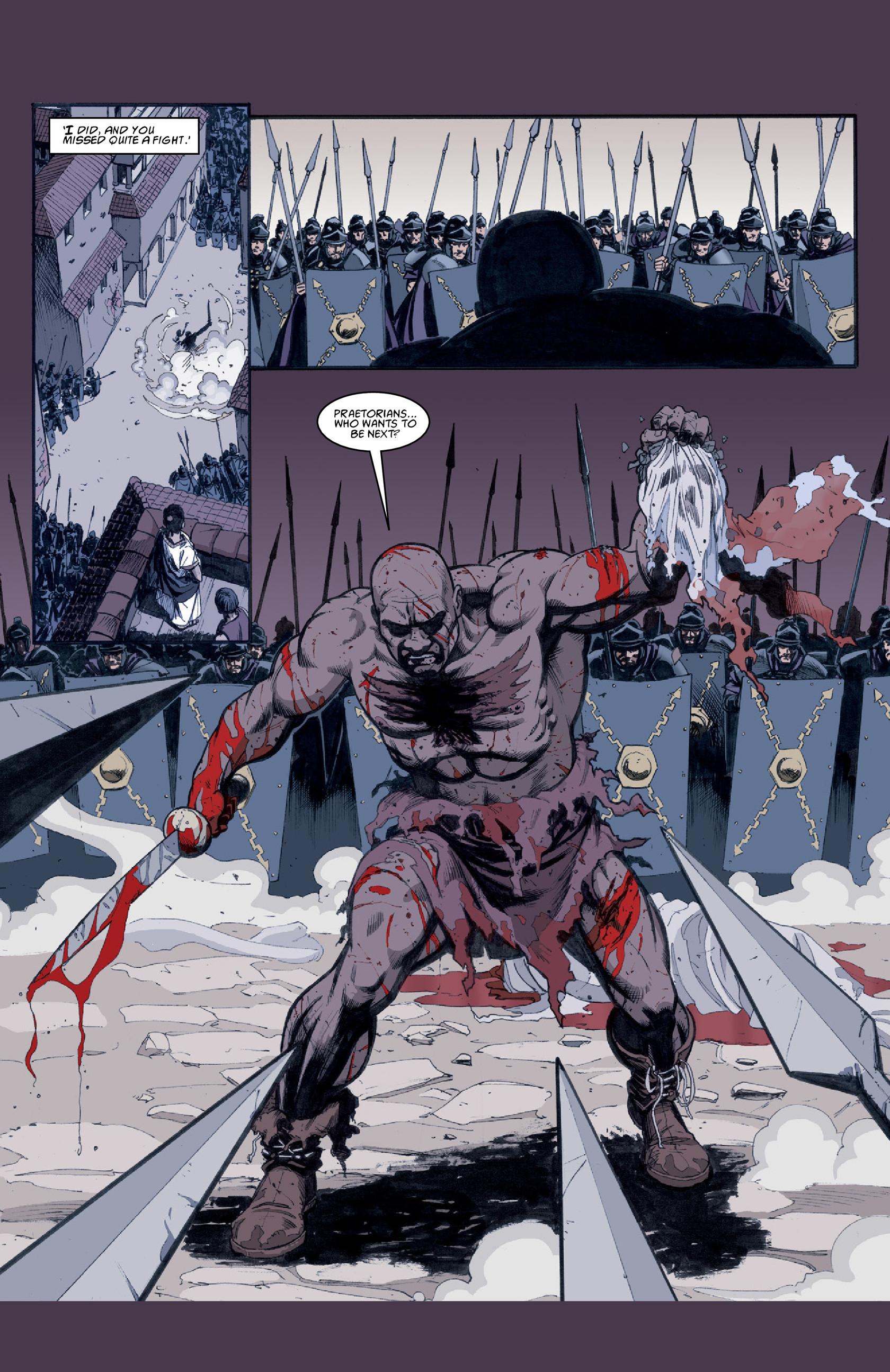Read online Aquila comic -  Issue #3 - 27
