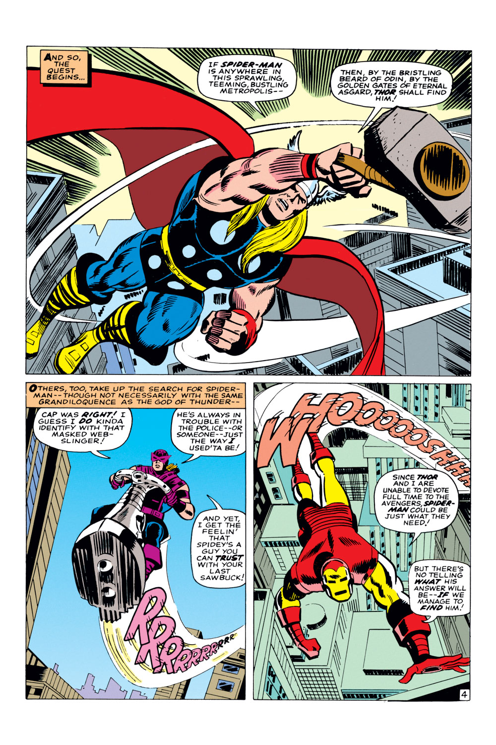 The Amazing Spider-Man (1963) _Annual_3 Page 4