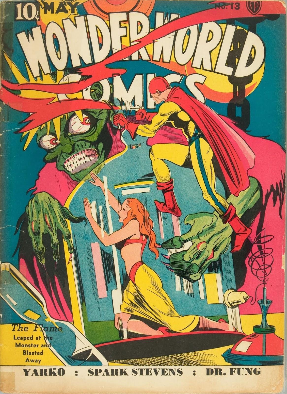 Wonderworld Comics issue 13 - Page 1
