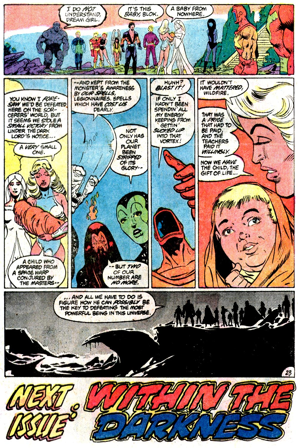 Legion of Super-Heroes (1980) 292 Page 23