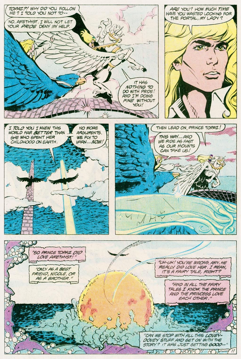 Read online Amethyst (1985) comic -  Issue #12 - 15