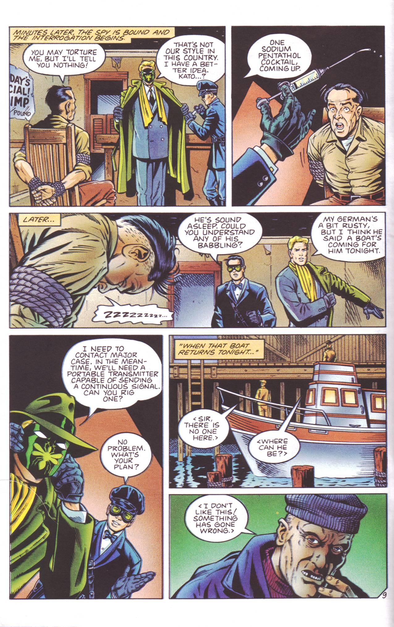 Read online Sting of The Green Hornet comic -  Issue #4 - 10
