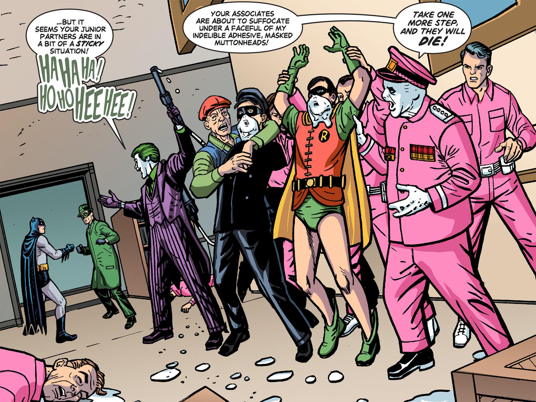 Read online Batman '66 Meets the Green Hornet [II] comic -  Issue #4 - 115