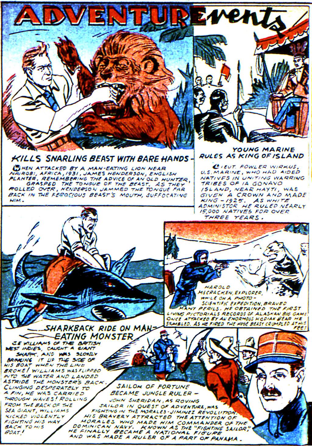 Read online Adventure Comics (1938) comic -  Issue #45 - 42