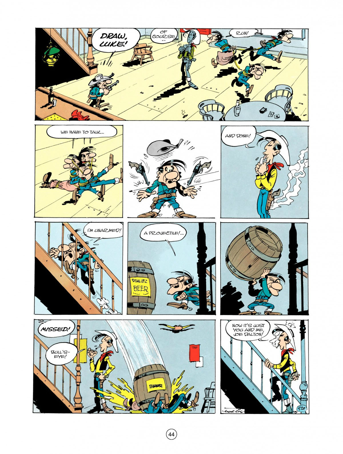 Read online A Lucky Luke Adventure comic -  Issue #28 - 45