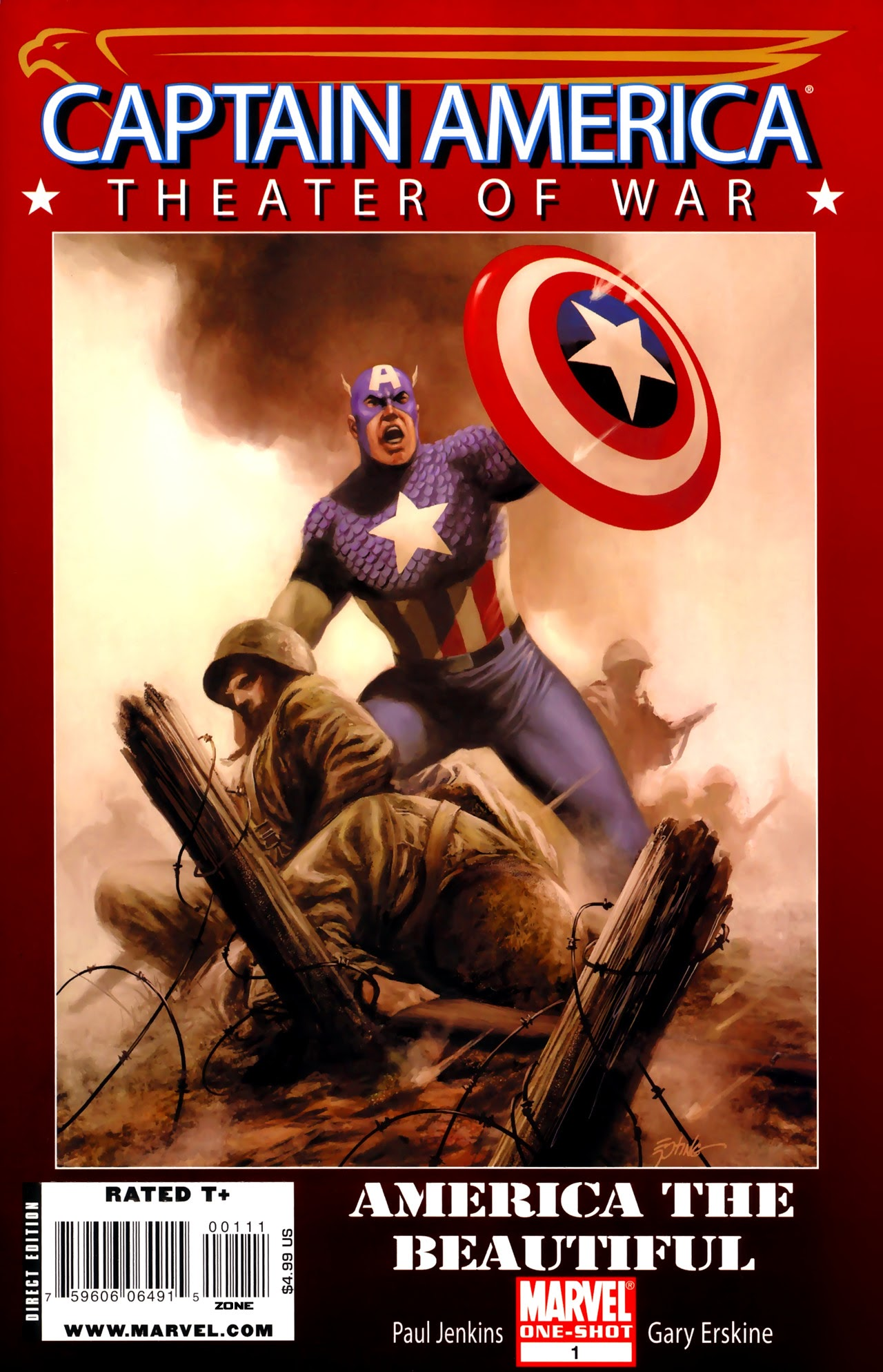 Captain America Theater of War: America the Beautiful Full Page 1