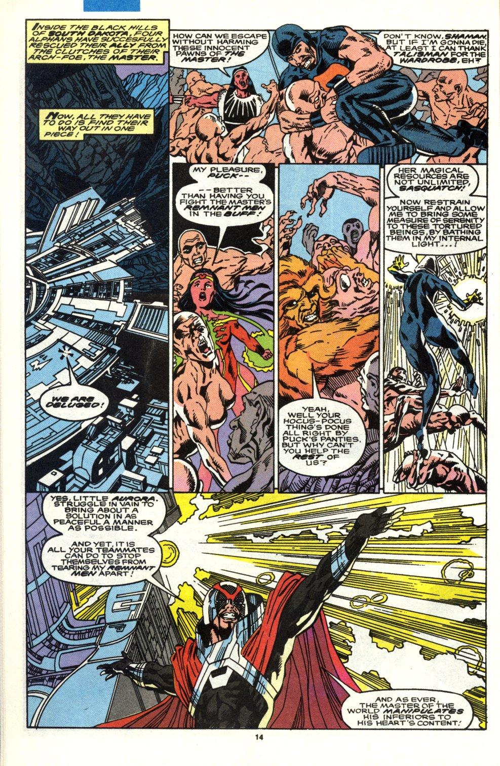 Read online Alpha Flight (1983) comic -  Issue #90 - 12