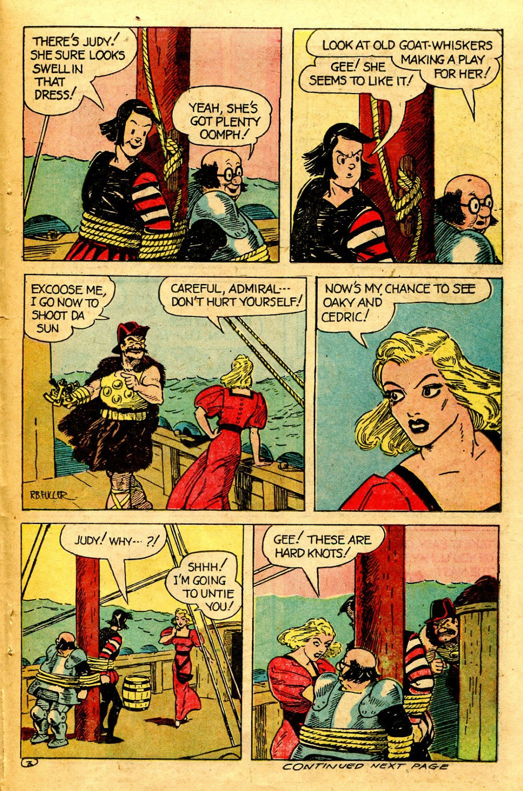 Read online Famous Funnies comic -  Issue #126 - 37