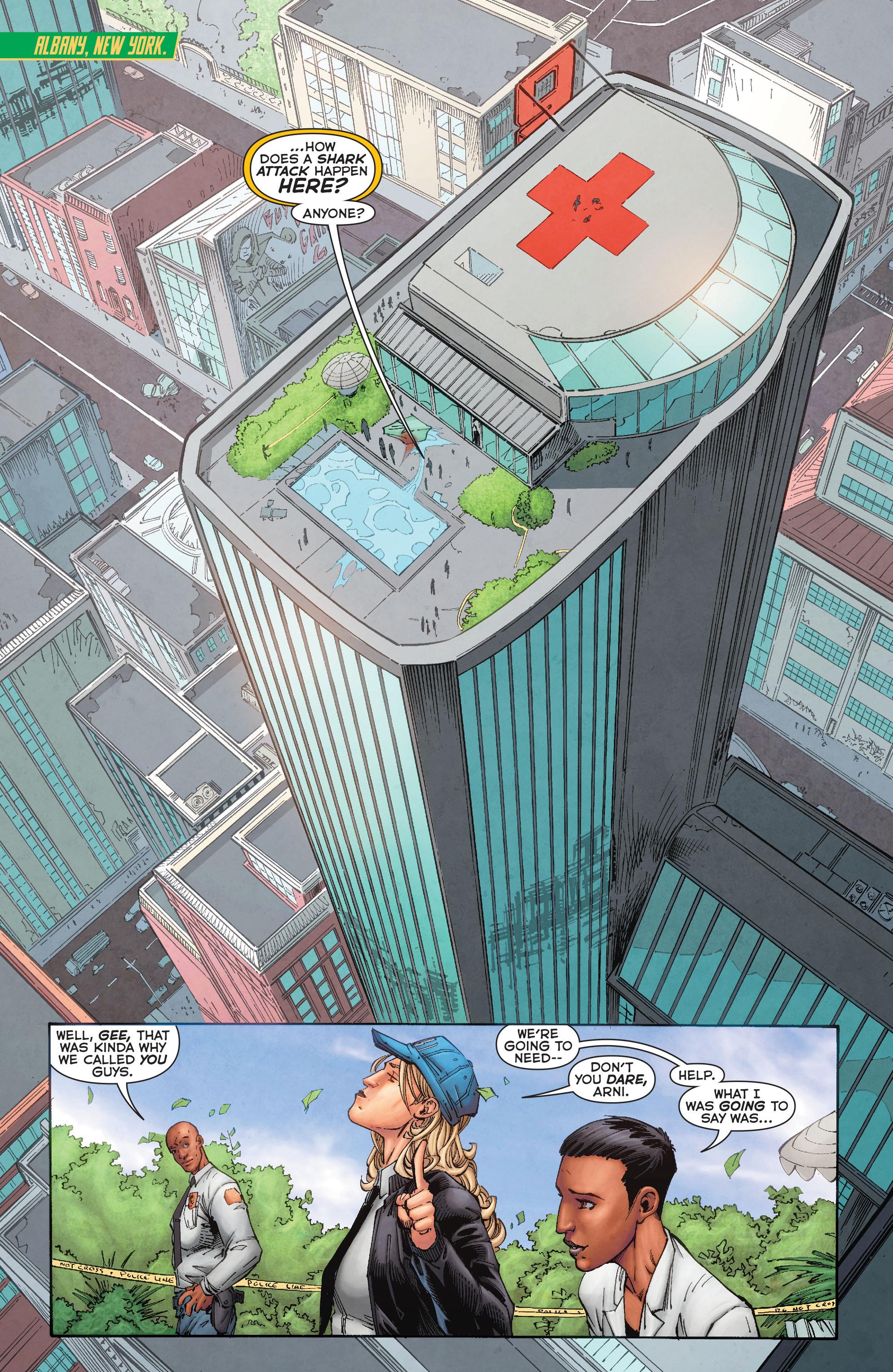 Read online Aquaman (2011) comic -  Issue #50 - 6