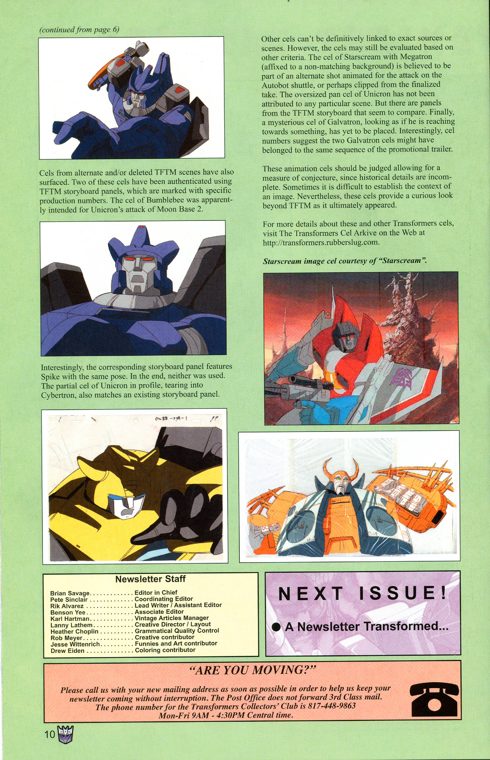 Read online Transformers: Collectors' Club comic -  Issue #12 - 10