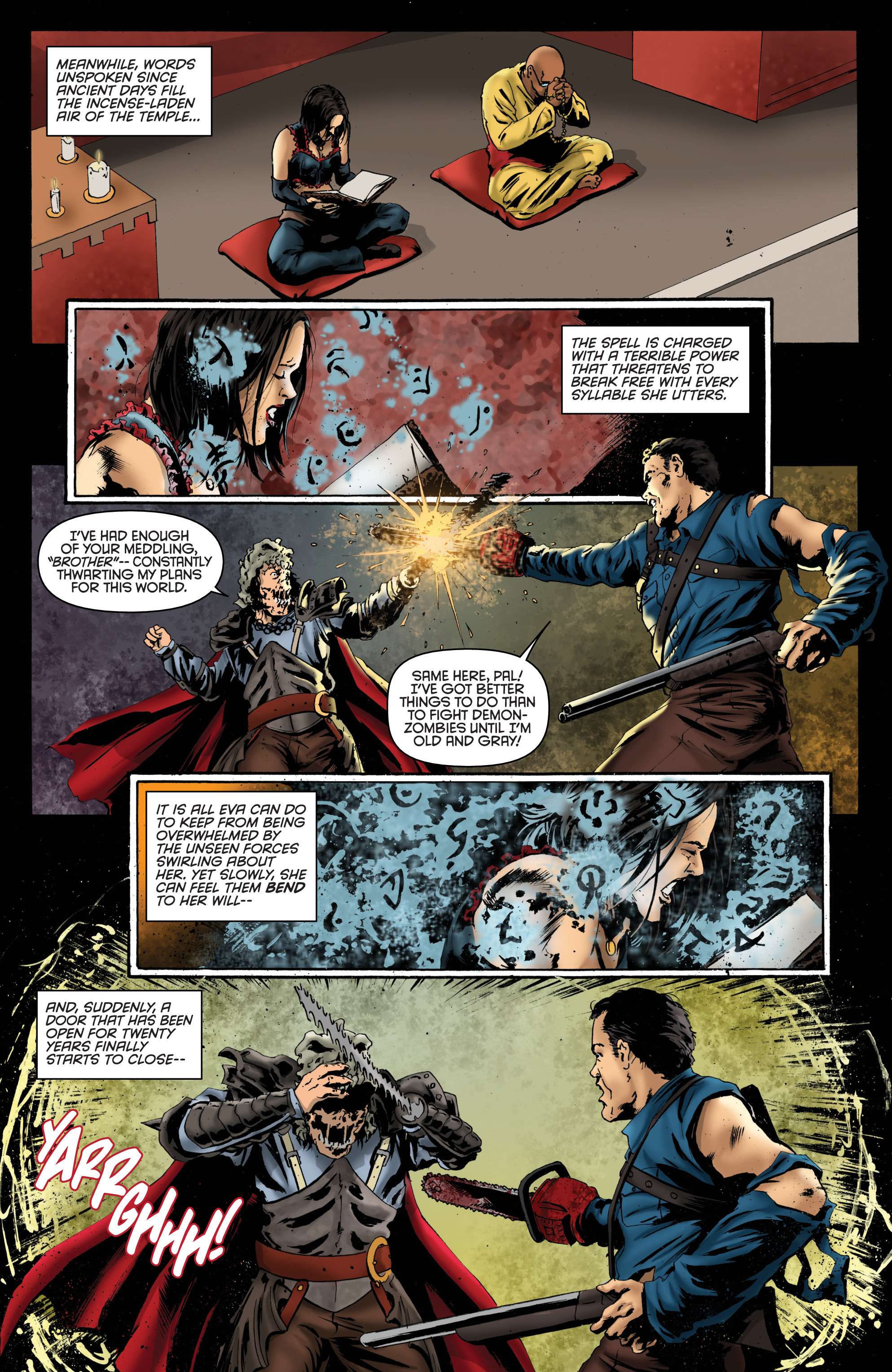 Read online Army of Darkness: Furious Road comic -  Issue #6 - 16