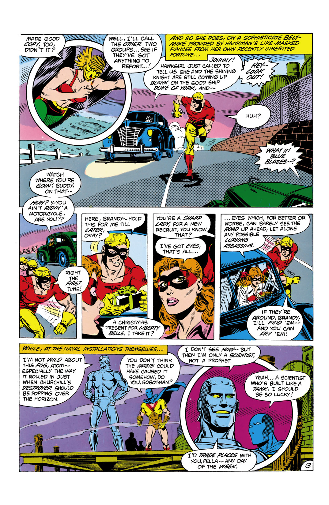 Read online All-Star Squadron comic -  Issue #7 - 14