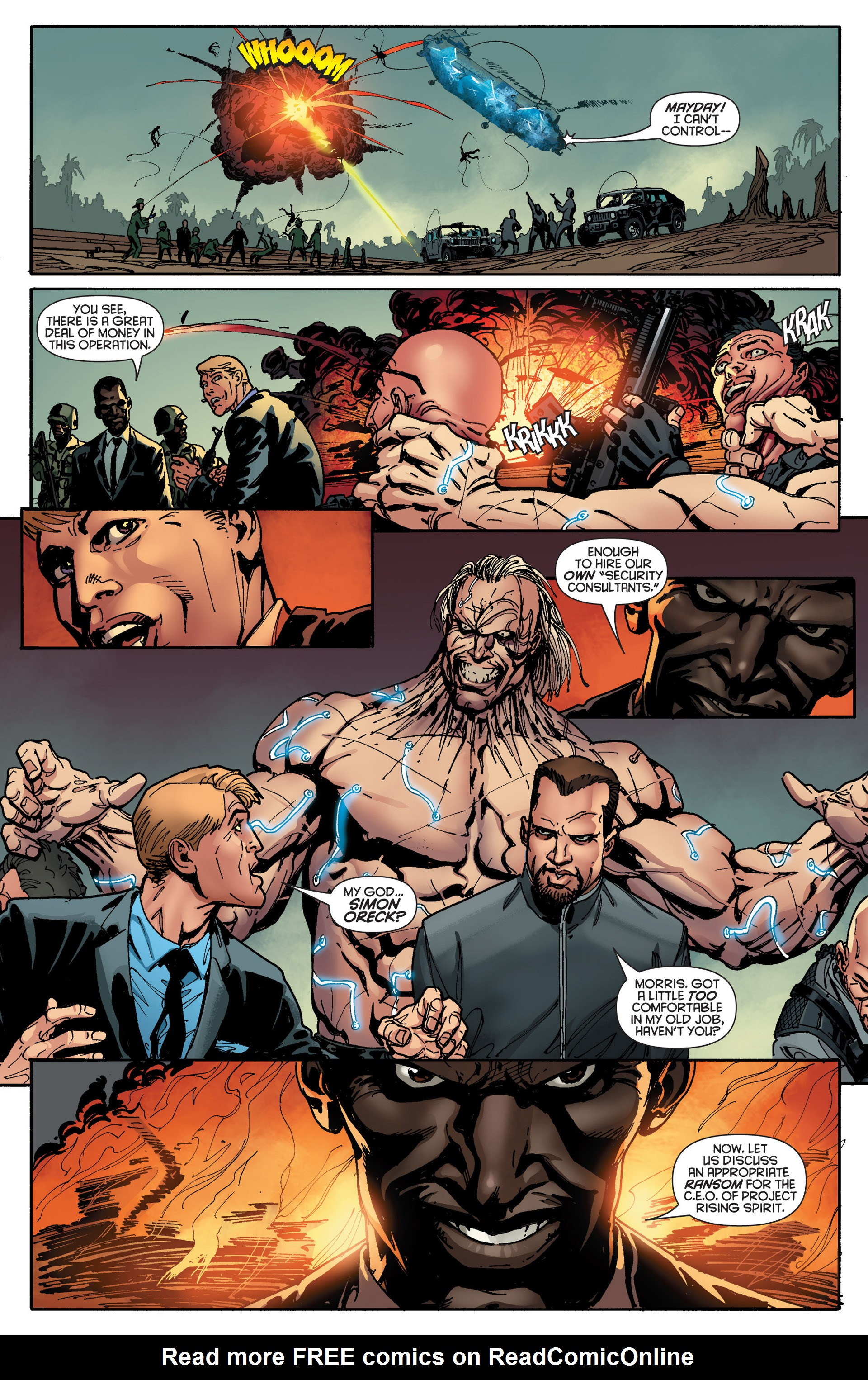 Read online Bloodshot and H.A.R.D.Corps comic -  Issue #18 - 4