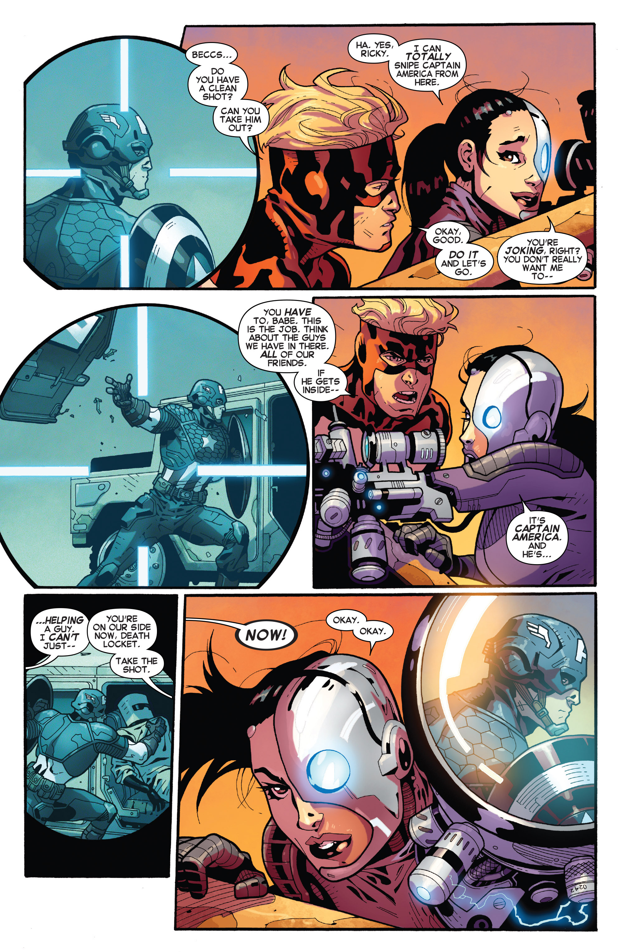 Read online Avengers Undercover comic -  Issue #6 - 16