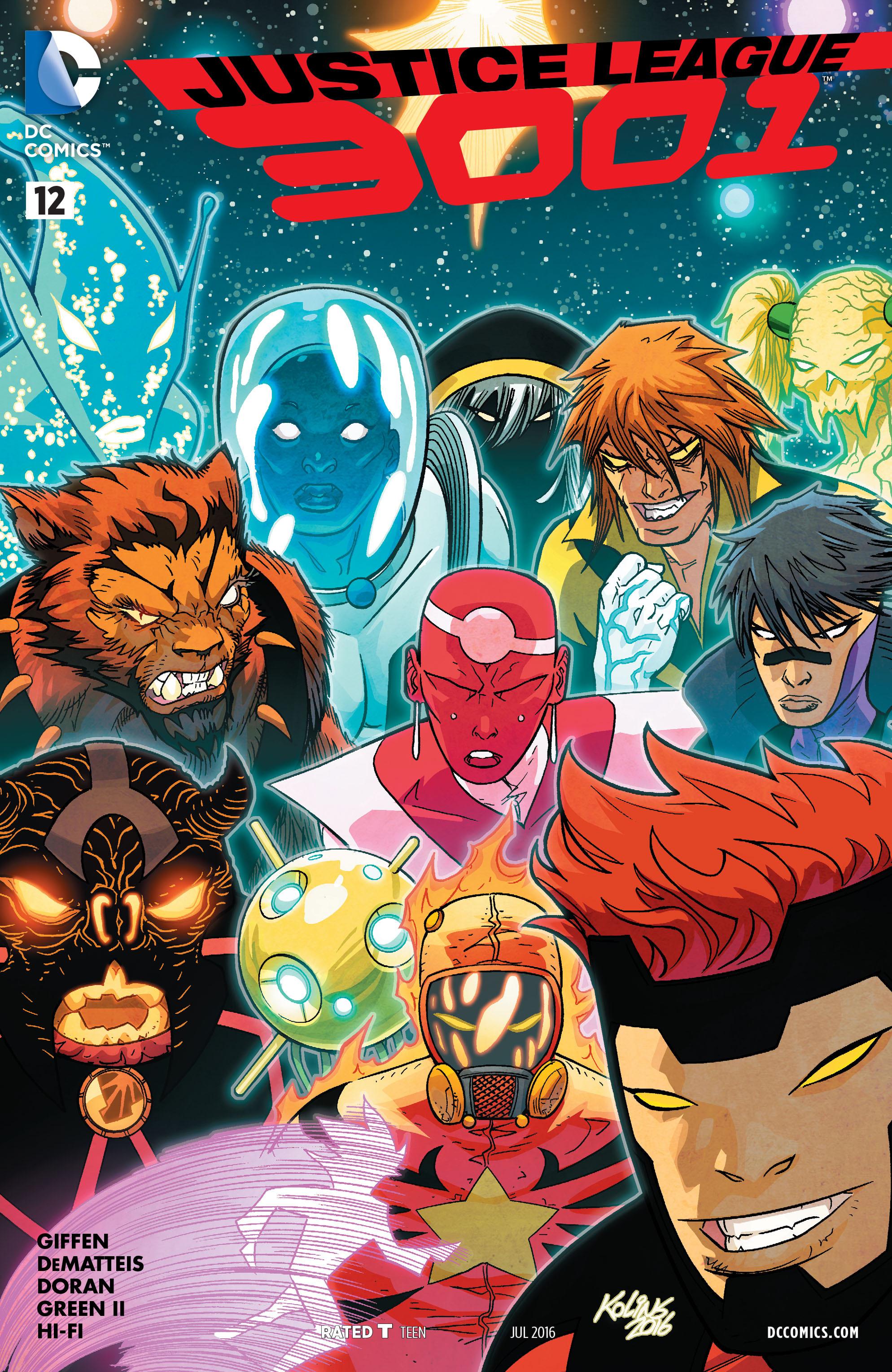 Justice League 3001 12 Page 1