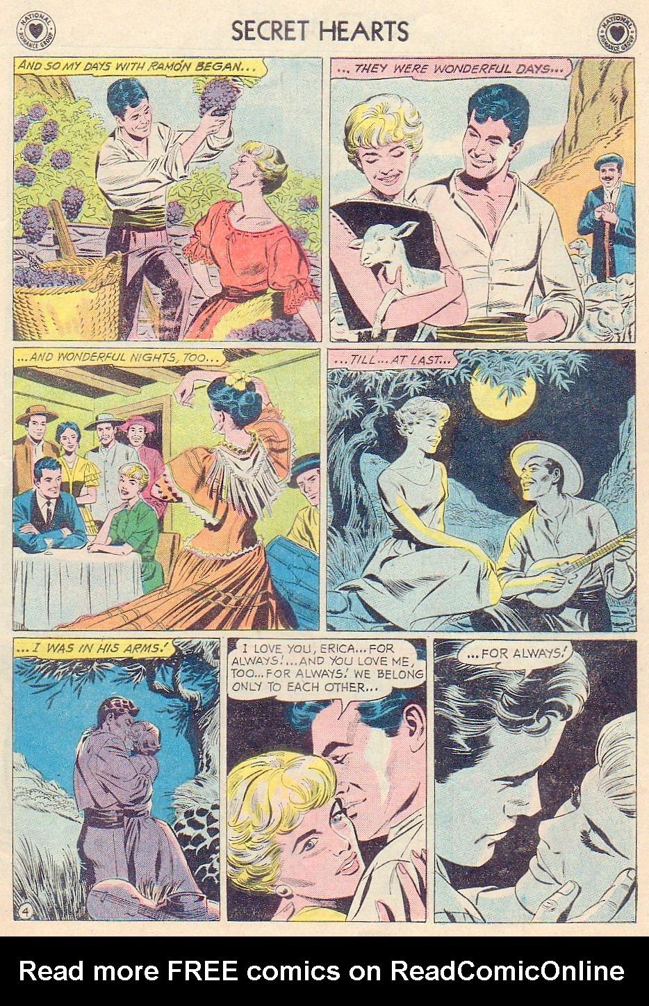 Read online Secret Hearts comic -  Issue #72 - 15