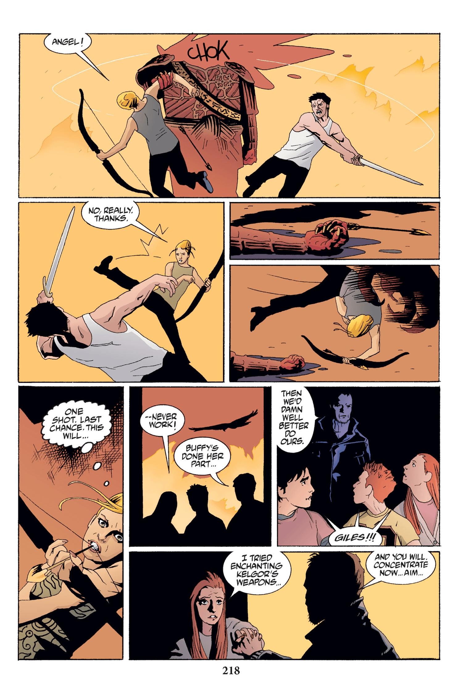 Read online Buffy the Vampire Slayer: Omnibus comic -  Issue # TPB 2 - 212