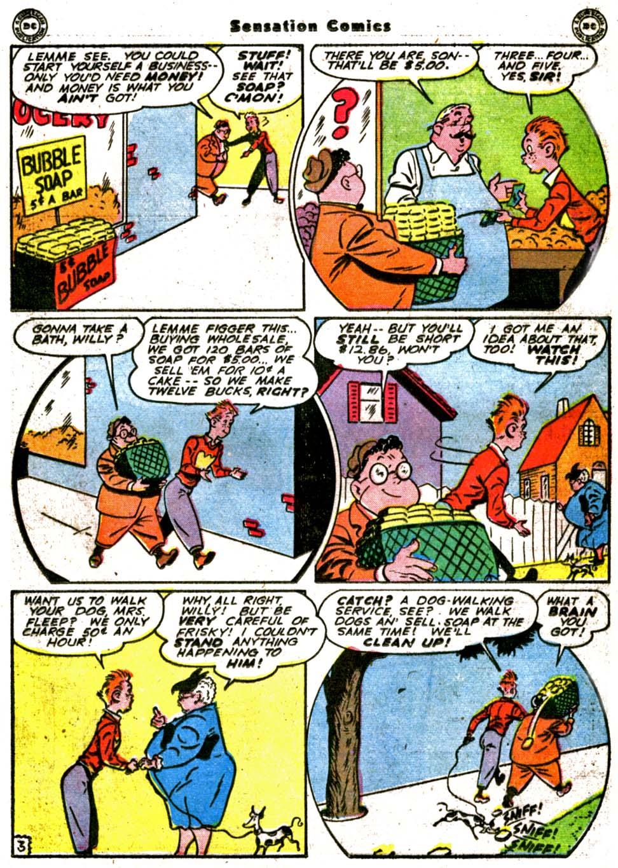 Read online Sensation (Mystery) Comics comic -  Issue #64 - 25