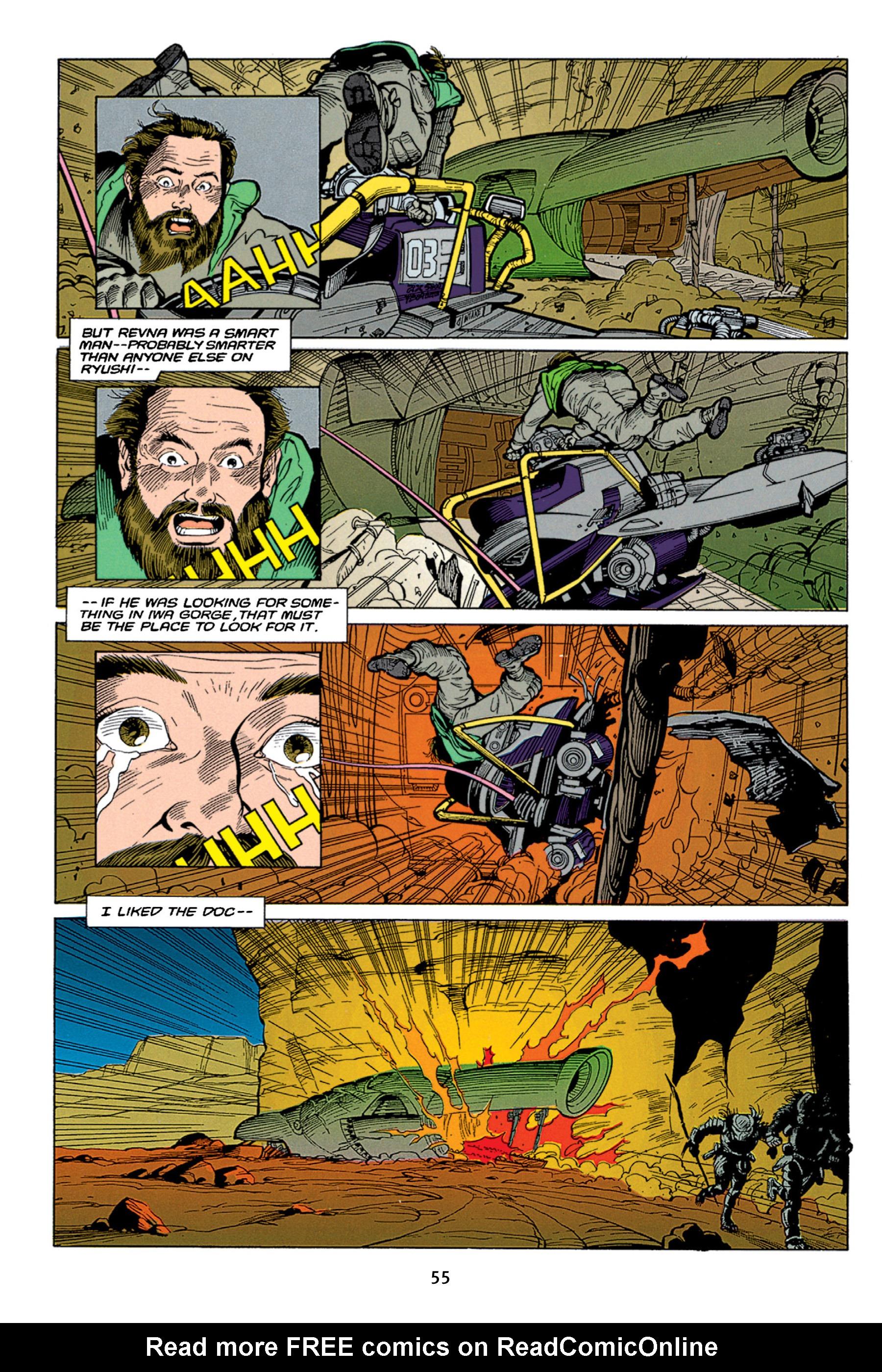 Read online Aliens vs. Predator Omnibus comic -  Issue # _TPB 1 Part 1 - 55