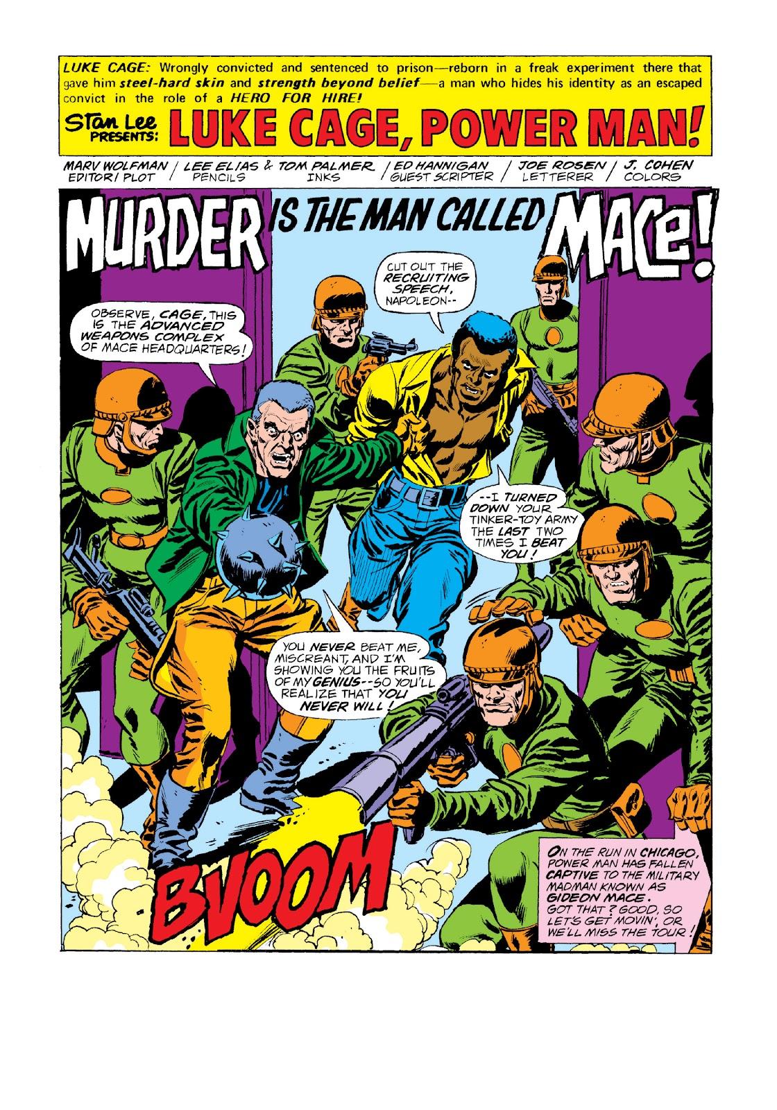 Read online Marvel Masterworks: Luke Cage, Power Man comic -  Issue # TPB 3 (Part 3) - 46