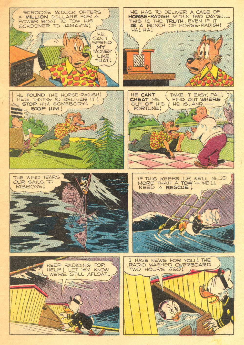 Read online Uncle Scrooge (1953) comic -  Issue #3 - 17