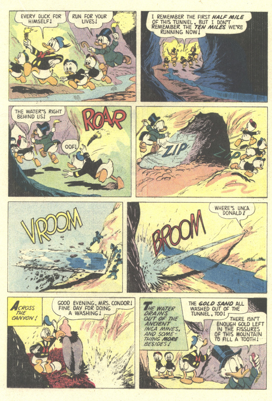 Read online Uncle Scrooge (1953) comic -  Issue #211 - 21