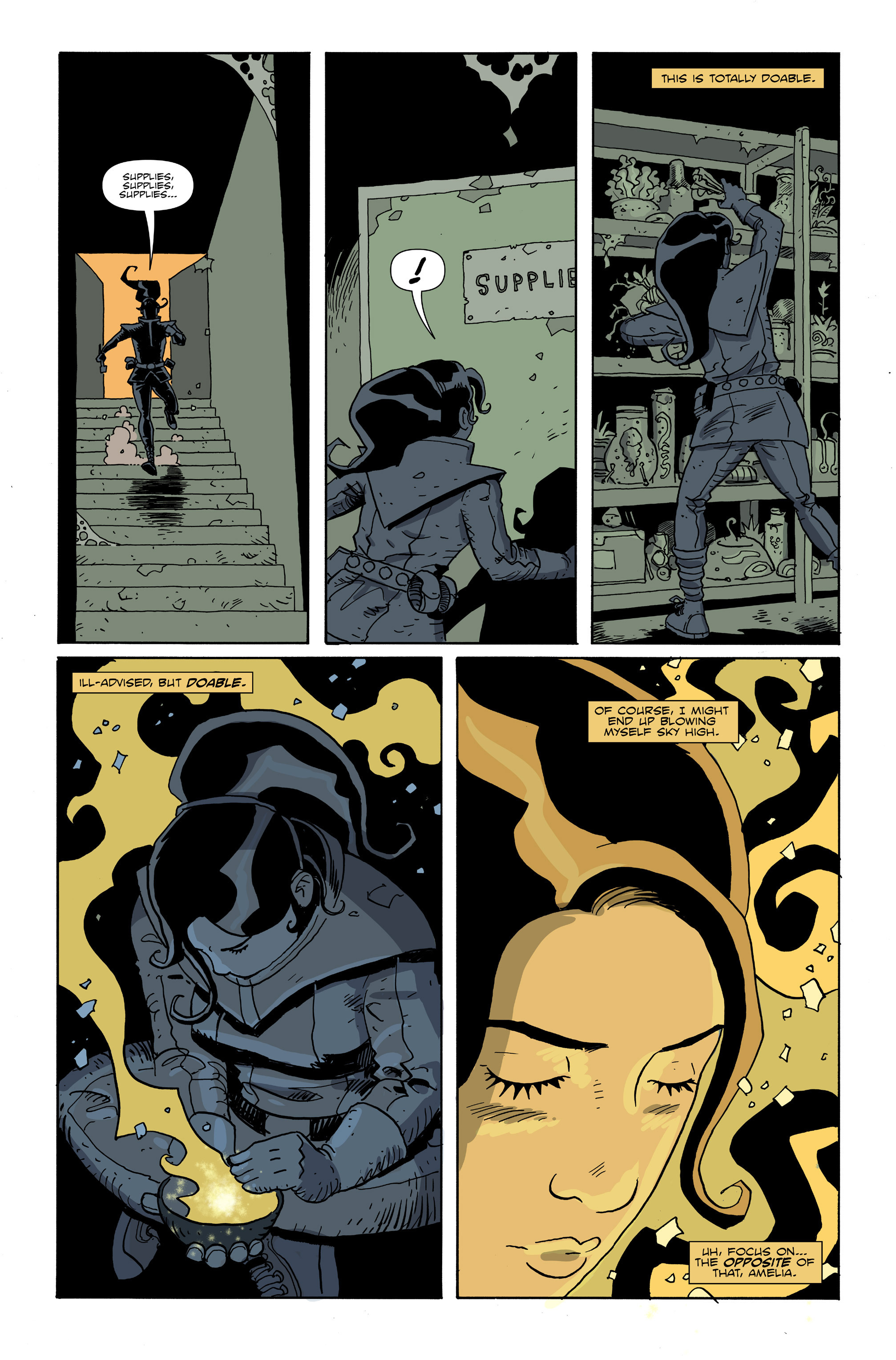 Read online Amelia Cole Versus The End of Everything comic -  Issue #26 - 7