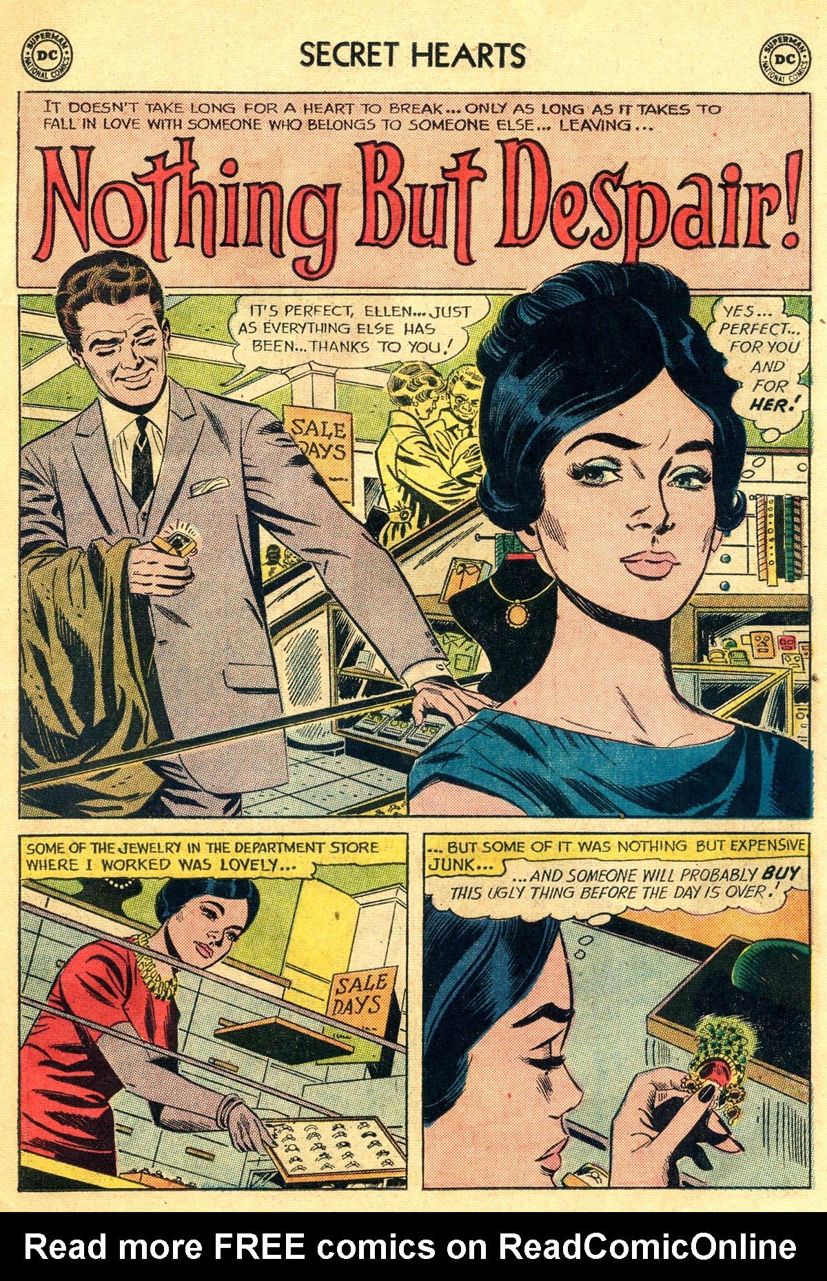 Read online Secret Hearts comic -  Issue #81 - 11