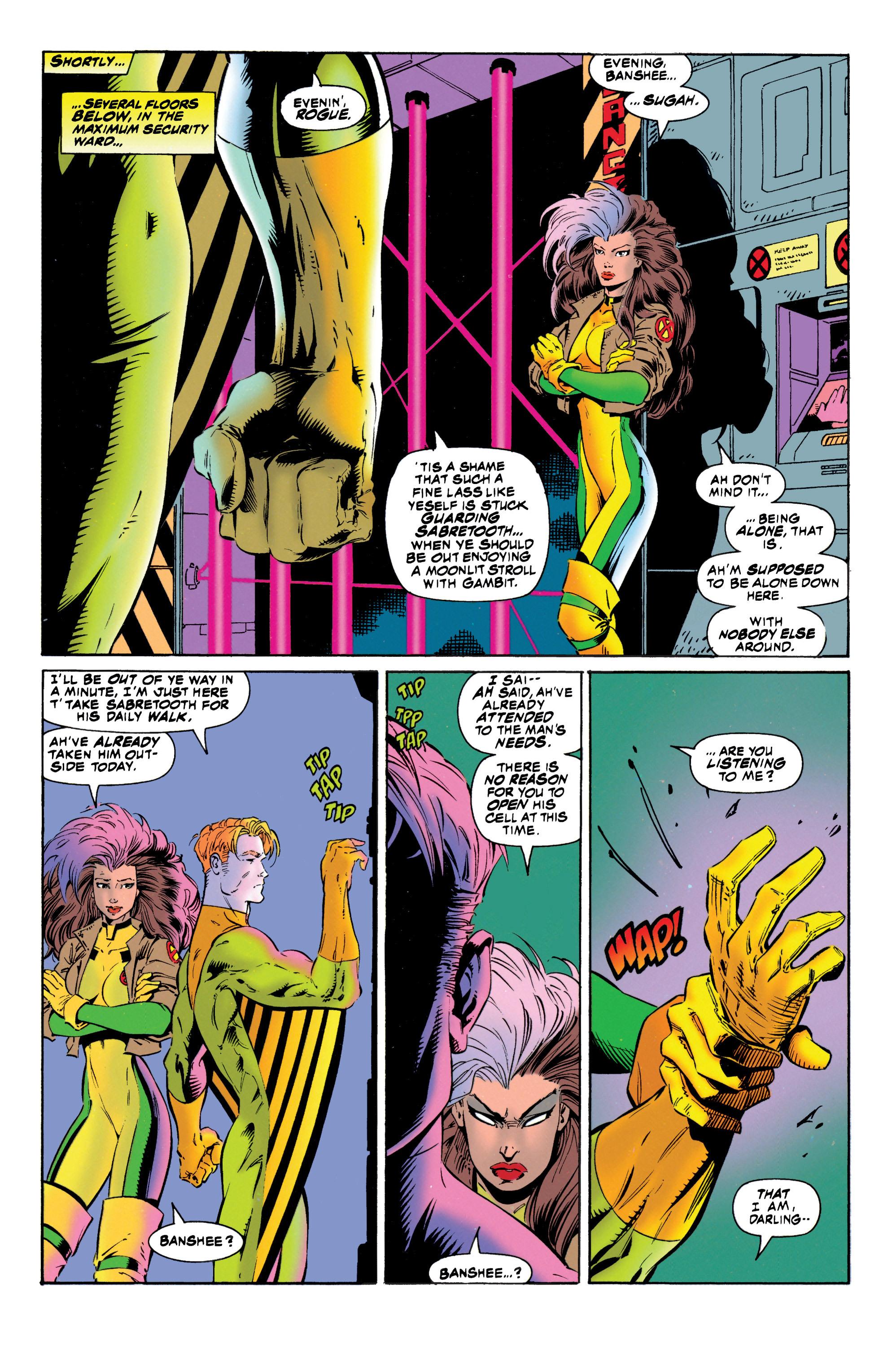 Read online Uncanny X-Men (1963) comic -  Issue #316 - 18
