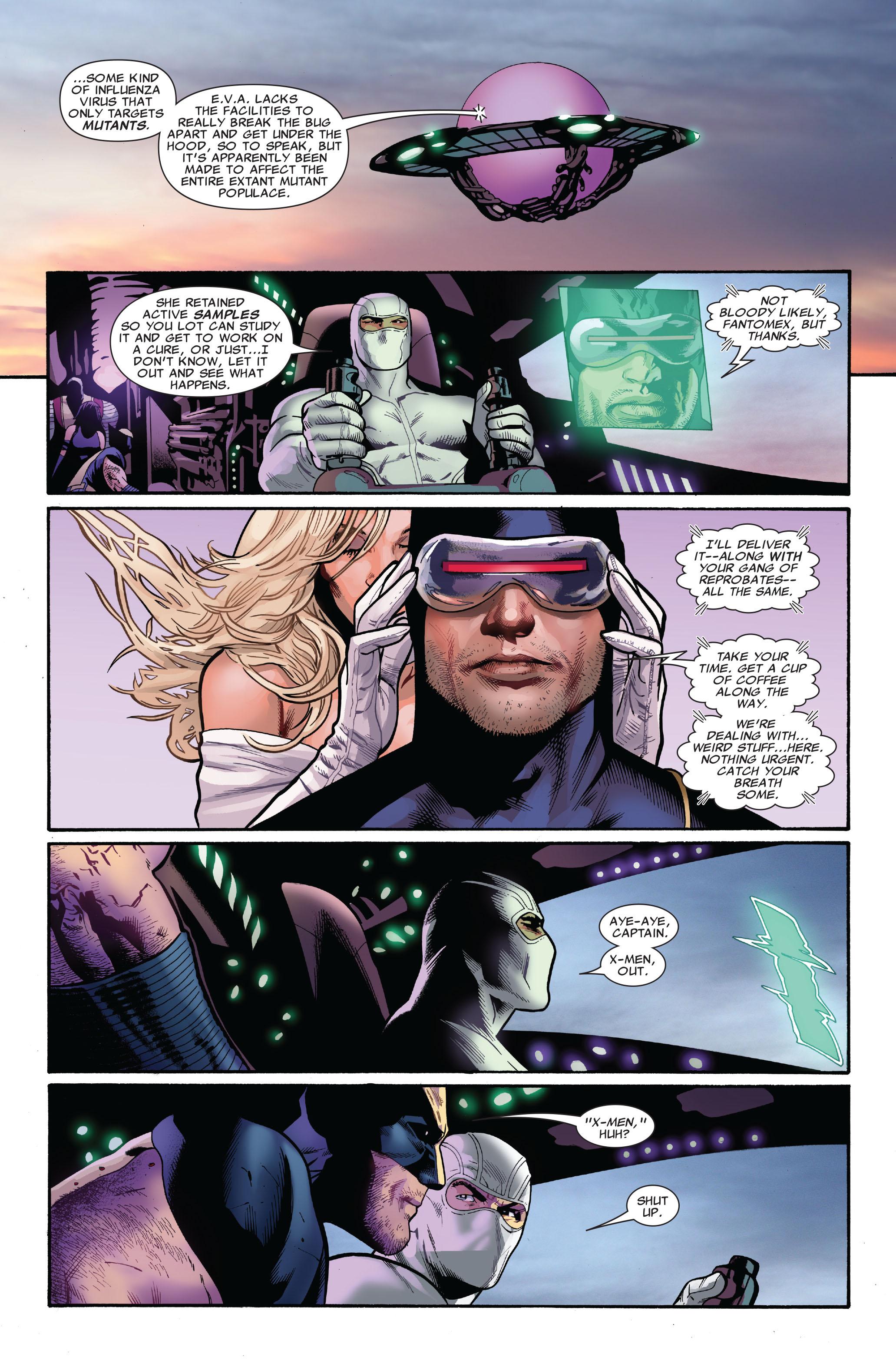 Read online Uncanny X-Men (1963) comic -  Issue #521 - 22