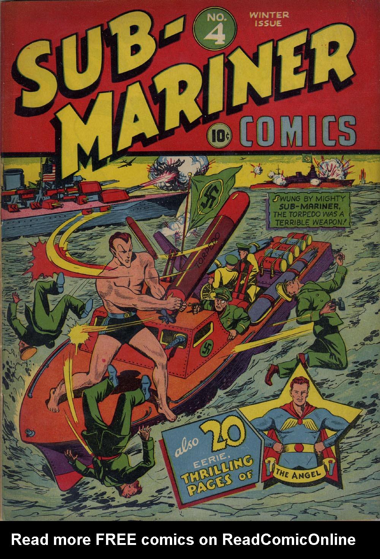 Sub-Mariner Comics 4 Page 1
