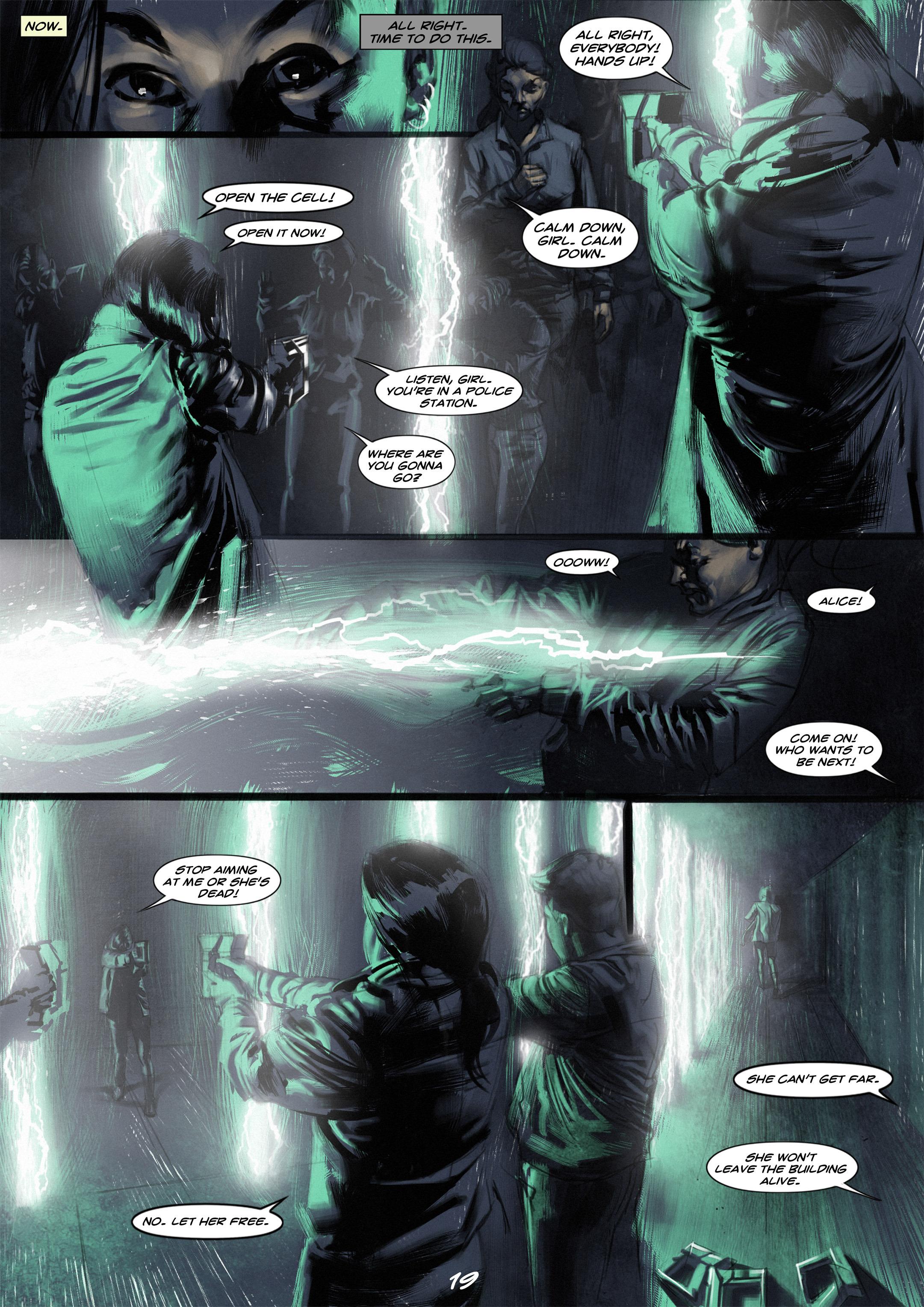 Read online Wynter comic -  Issue #2 - 20