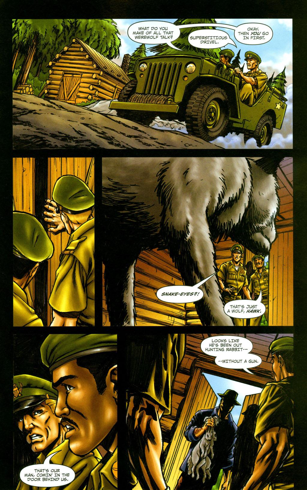 Read online Snake Eyes: Declassified comic -  Issue #5 - 21