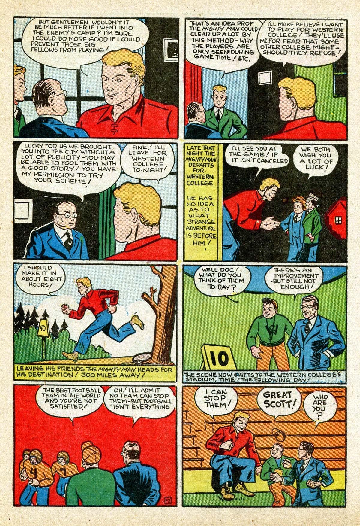 Read online Amazing Man Comics comic -  Issue #8 - 53
