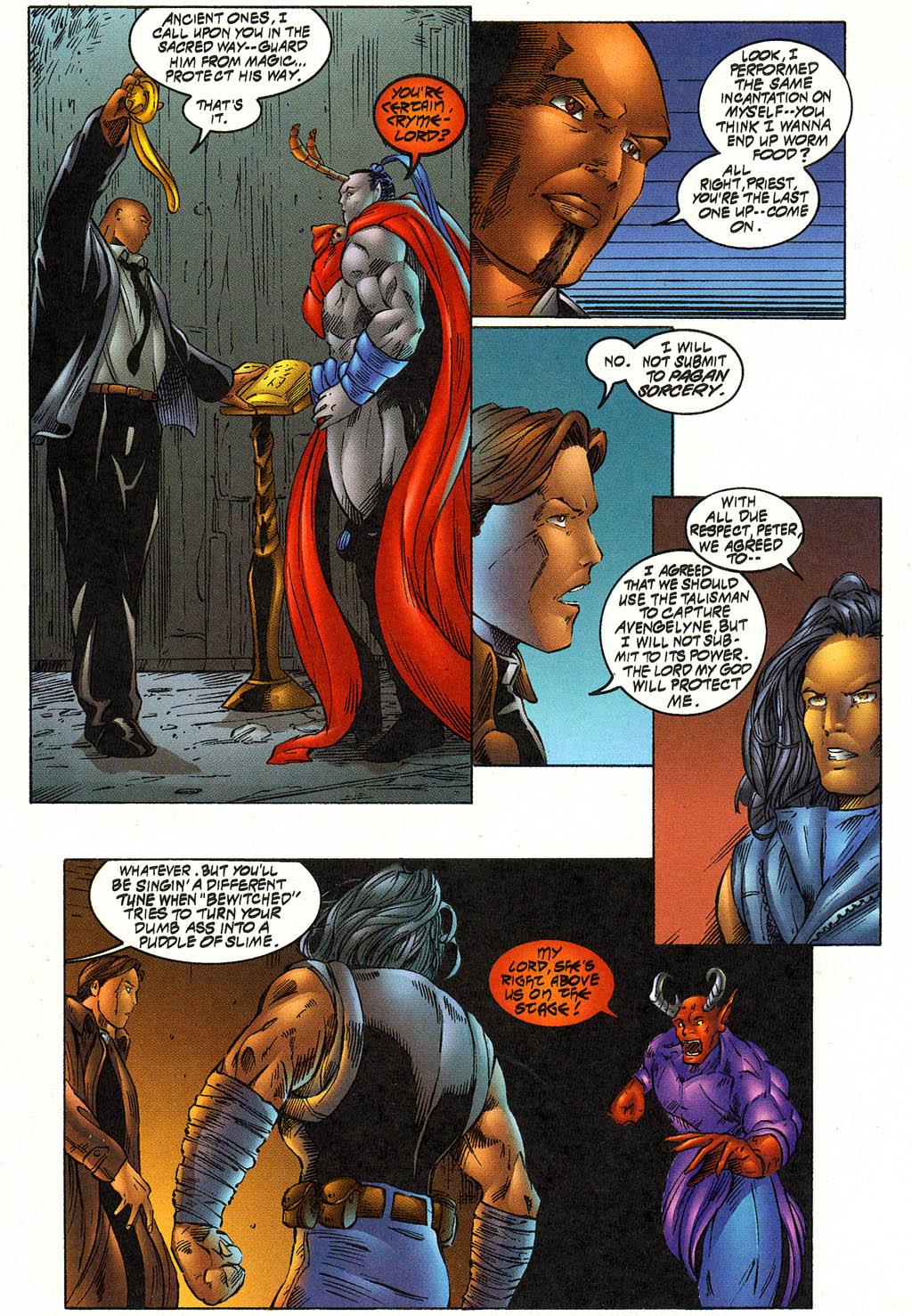 Read online Avengelyne (1996) comic -  Issue #12 - 15