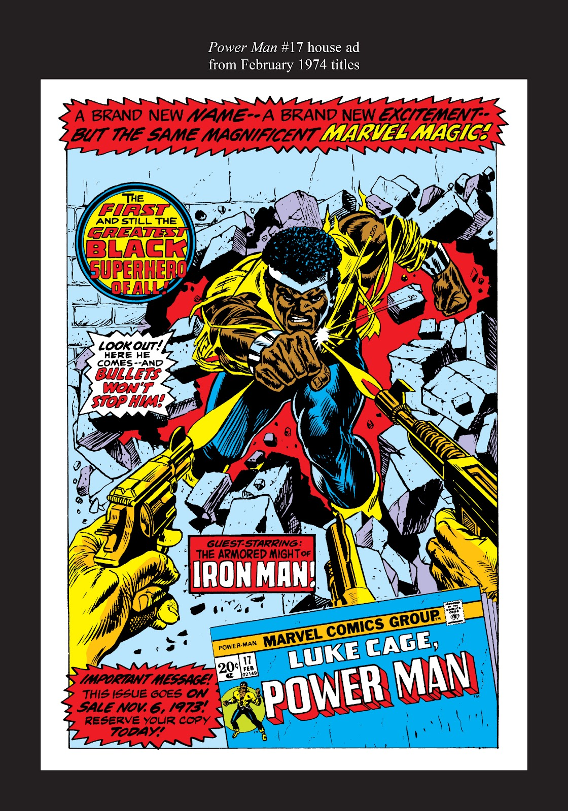 Read online Marvel Masterworks: Luke Cage, Power Man comic -  Issue # TPB 2 (Part 3) - 96