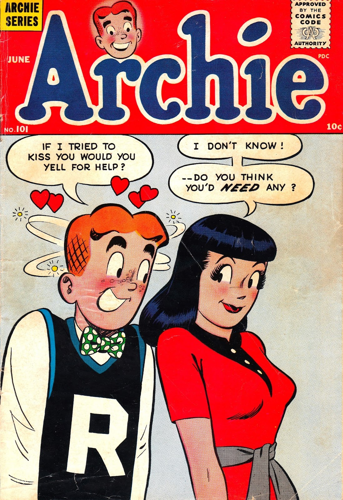 Archie Comics issue 101 - Page 1